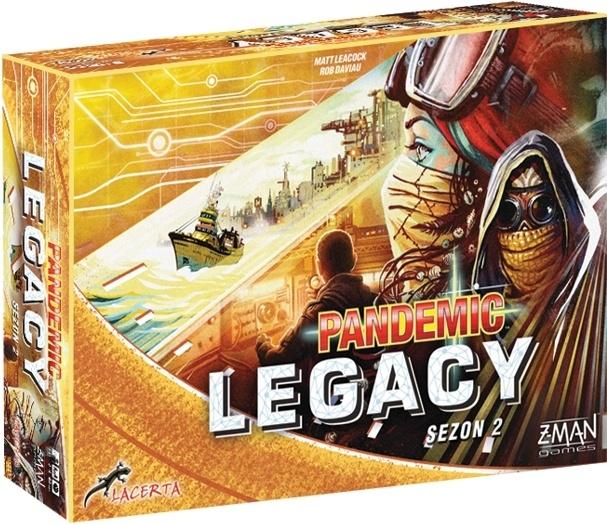 Pandemic Legacy (Pandemia) - Sezon 2 - Edycja żółta