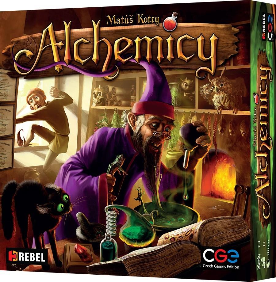 Alchemicy (Alchemists) + karta promocyjna