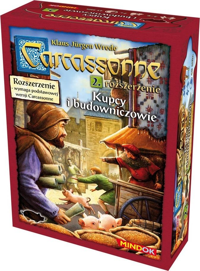 Carcassonne: Kupcy i Budowniczowie (druga edycja polska)