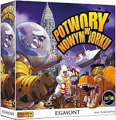 Potwory w Nowym Jorku + + dodatkowy potwór + karty promocyjne