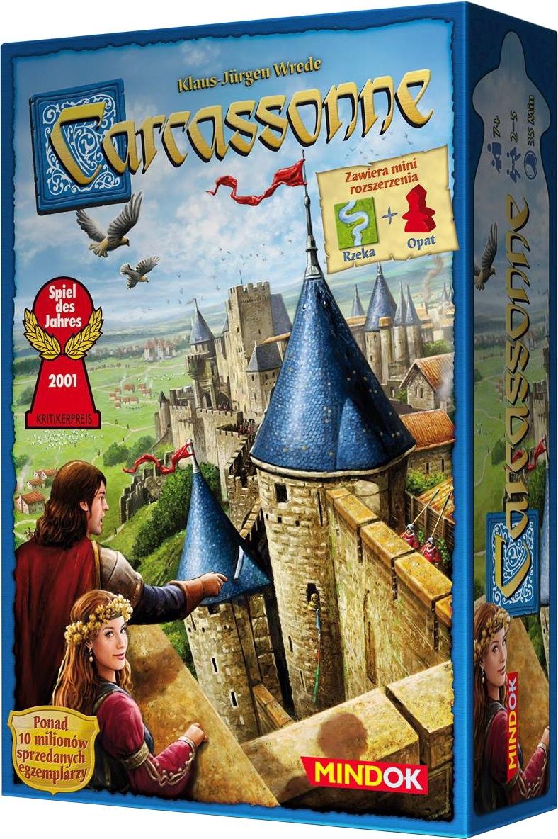 Carcassonne (druga edycja polska) + mini dodatki
