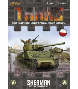 TANKS: zestaw dodatkowy Sherman