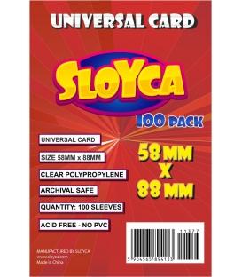 SLOYCA Koszulki Universal Card (58x88mm) 100 szt