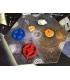 Zestaw żetonów Starbase pasujących do gry Eclipse (24szt)
