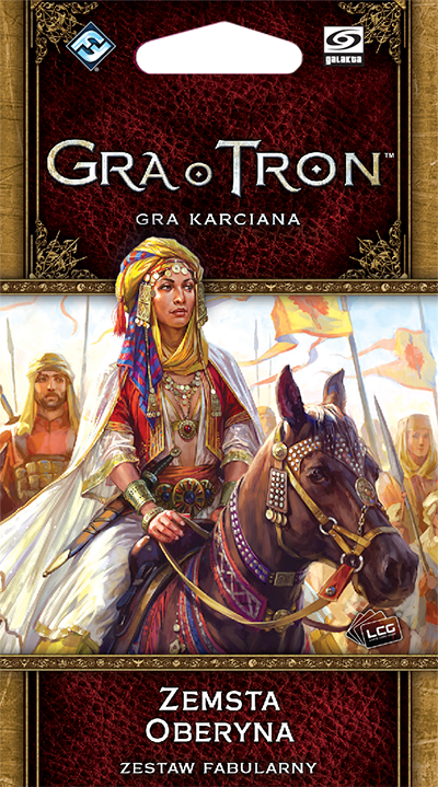 Gra o Tron: Gra karciana (2ed) - Zemsta Oberyna