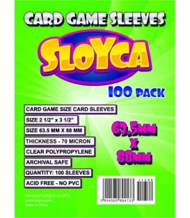 SLOYCA Koszulki Standard CCG (63,5x88mm) 100 szt
