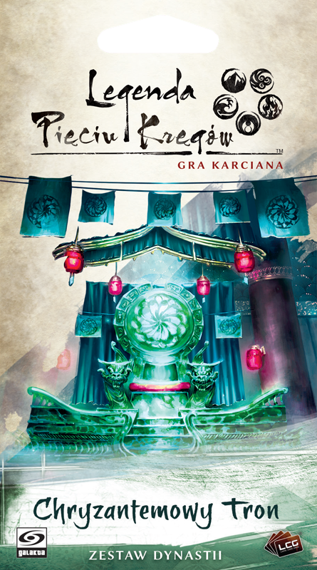 Legenda Pięciu Kręgów: Gra karciana - Chryzantemowy tron