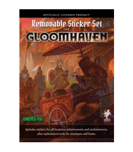Gloomhaven (2ed) - Removable Sticker Set (zestaw naklejek)
