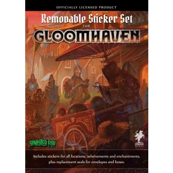 Gloomhaven (2ed) - Removable Sticker Set (zestaw naklejek)