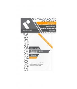 "Koszulki na karty Rebel (64x89 mm) ""Classic Card Game Premium"", 100 sztuk"
