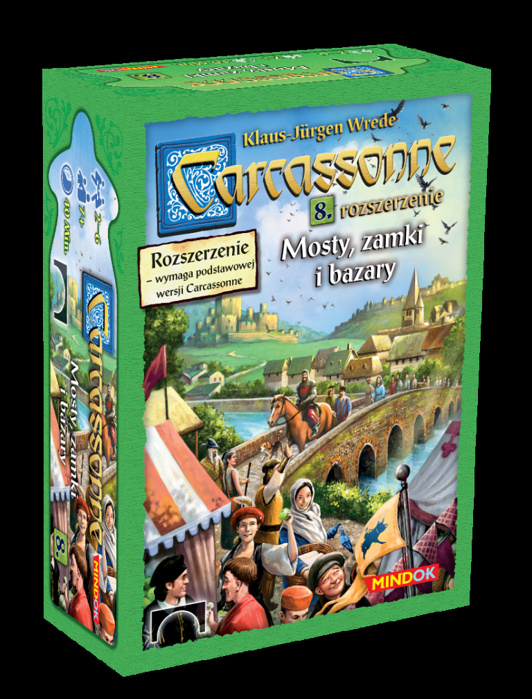 Carcassonne - Mosty, Zamki i Bazary (druga edycja)