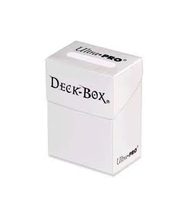 Deck Box - White