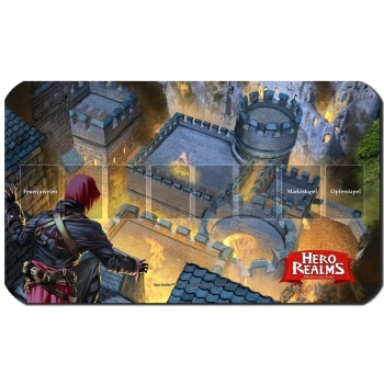 Blackfire Playmat - Hero Realms Brandbombe - Ultrafine 2mm (DE)
