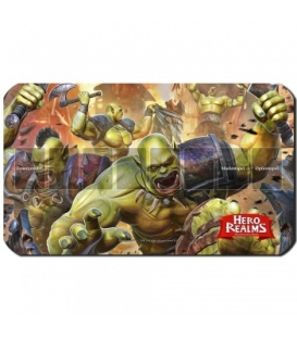 Blackfire Playmat - Hero Realms Orks - Ultrafine 2mm (DE)