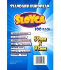 SLOYCA Koszulki Standard European (59x92mm) 100 szt.