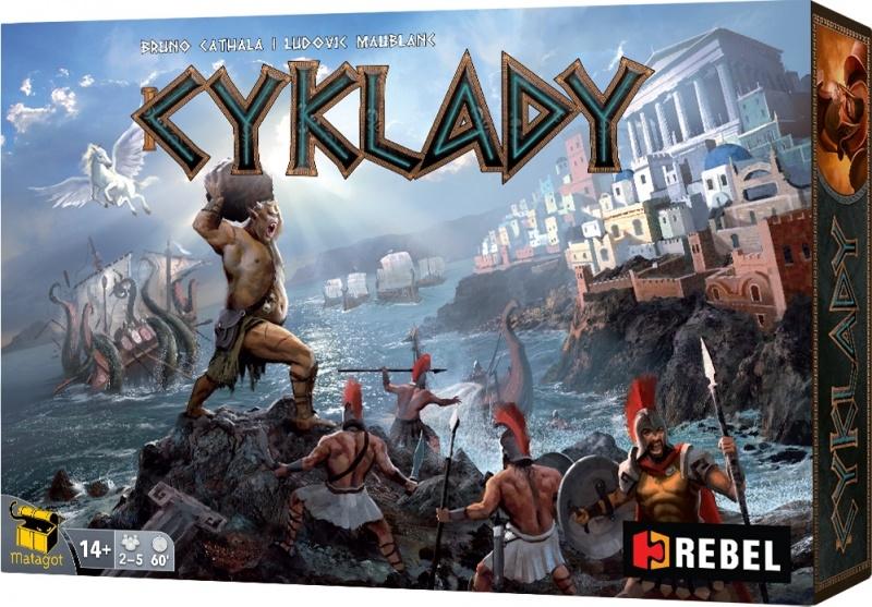 Cyklady (Cyclades) - edycja polska (gra używana))
