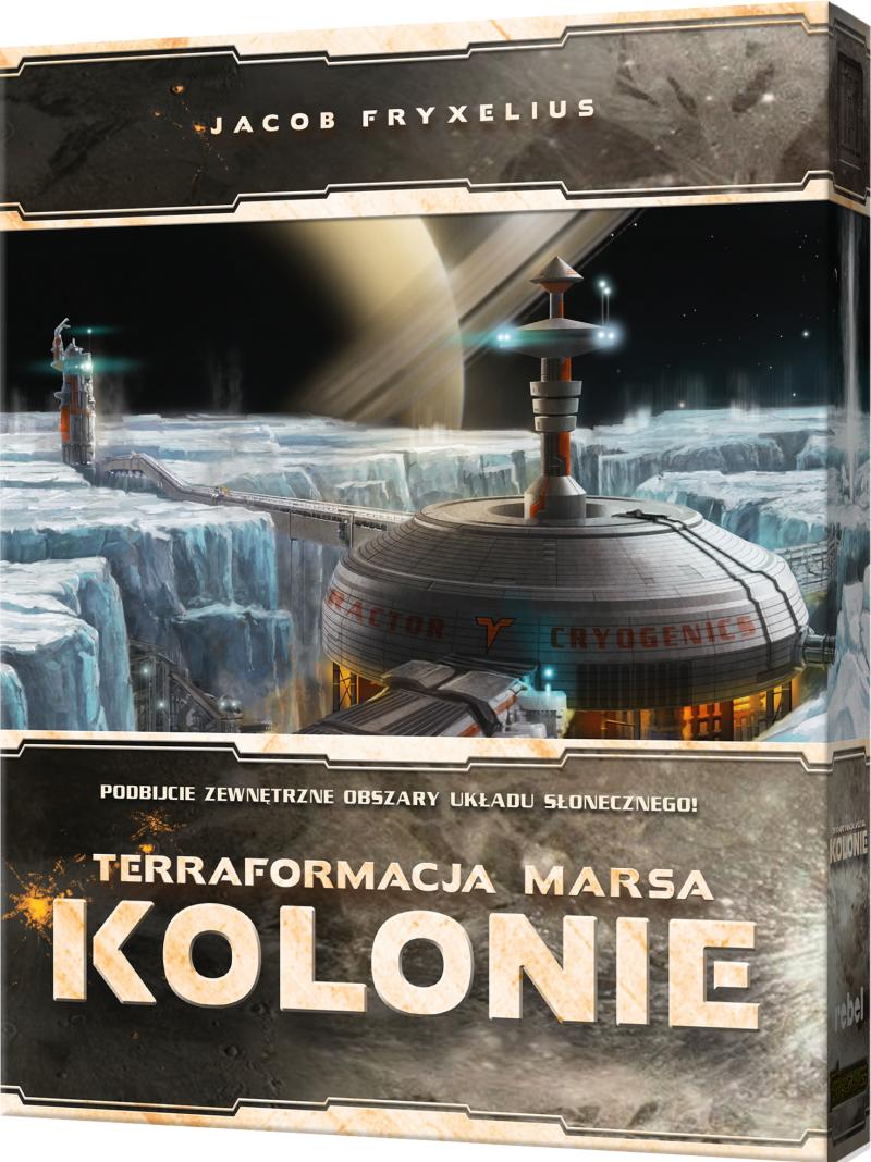 Terraformacja Marsa: Kolonie