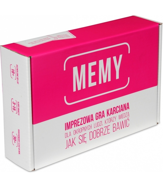 3e8d9c0146954 Memy  Imprezowa gra karciana - Aleplanszówki.pl - Twój sklep z grami ...
