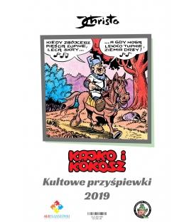 """Kalendarz Kajko i Kokosz """"Kultowe przyśpiewki 2019"""""""