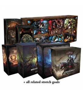 The Edge: Dawnfall PL v1.6 (edycja Kickstarter) + Warchest + Wszystkie dodatki
