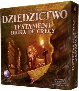 Dziedzictwo: Testament Diuka de Crecy (gra używana)