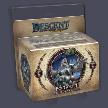 Descent: Journeys in the Dark - Bol'Goreth the Troll Lieutenant Pack