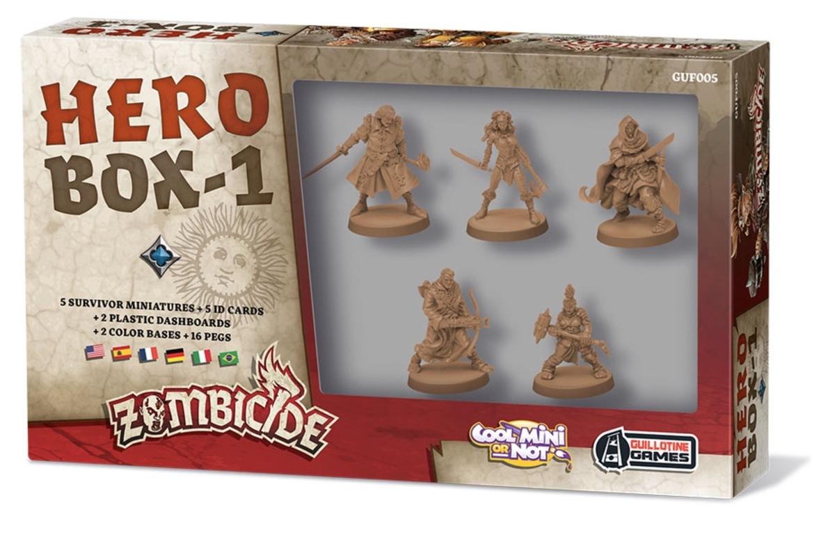 Zombicide: Hero box - 1