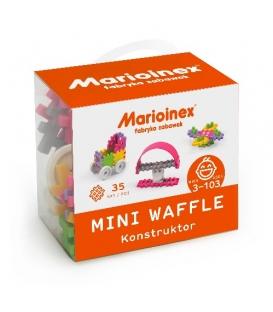 Mini Waffle 35 elementów Konstruktor Dziewczynka