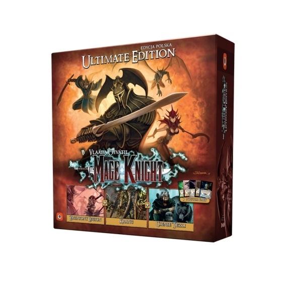 Mage Knight Ultimate Edition (edycja polska) (gra uszkodzona)