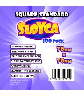 SLOYCA Koszulki Square Standard (70x70mm) 100 szt.