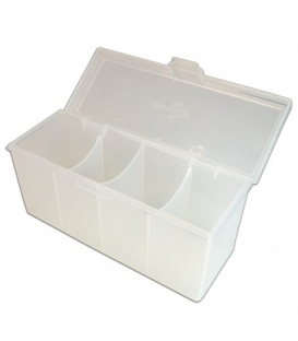 Blackfire 4-Compartment Storage Box - Clear