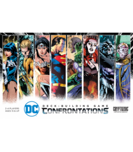 DC Comics: Deck-Building Game - Confrontationsb (gra używana)