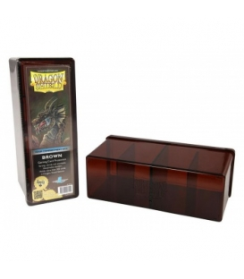 Dragon Shield - 4 Compartment Storage Box - Brown