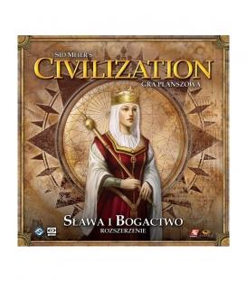 SID MEIER'S CIVILIZATION - SŁAWA I BOGACTWO (gra używana)