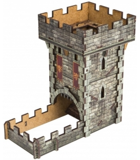 Dice Tower - Medieval (kolorowa)