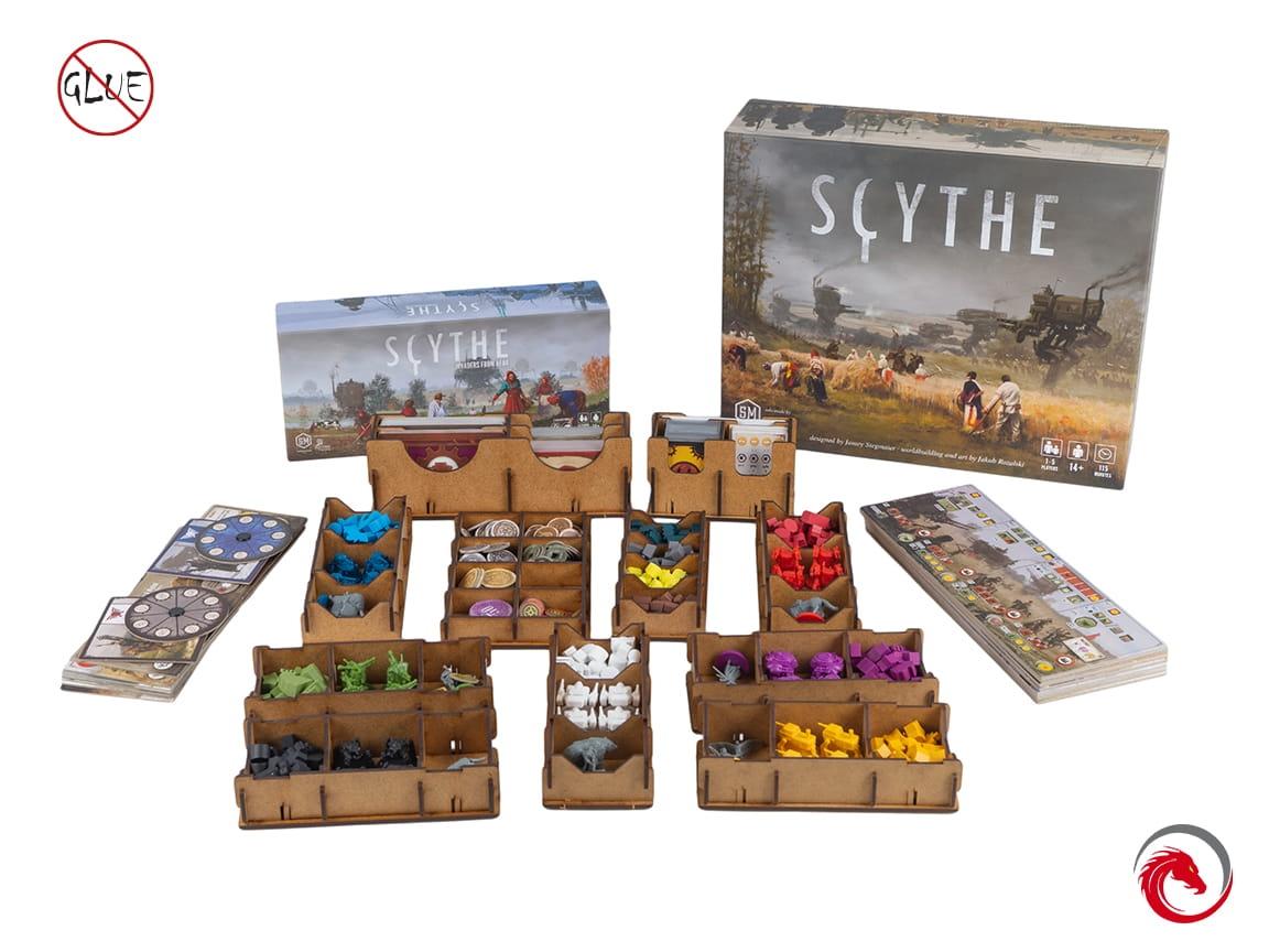 Insert do gry Scythe + dodatek Najeźdźcy z dalekich krain (e-Raptor)