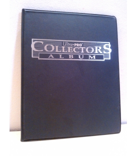 Collectors Card Album 10x9 czarny Silver
