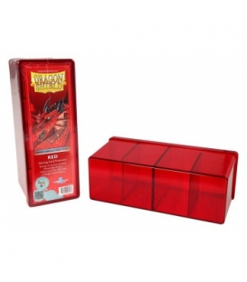 Dragon Shield - 4 Compartment Storage Box - Red