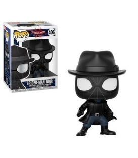 Funko POP Marvel Bobble: Spider-Man - Noir (Exc)