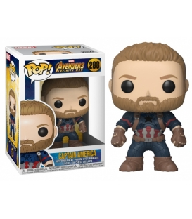 Funko POP Marvel: Avengers Infinity War - Captain America