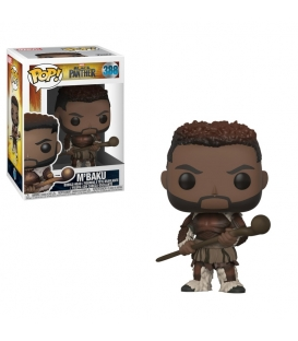 Funko POP Marvel: Black Panther - M'Baku