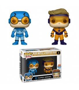 Funko POP DC 2 Pack: Blue Beetle & Booster Gold (Exc) (CC)