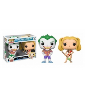 Funko POP DC 2 Pack: The Joker & Harley Quinn (Exc) (CC)