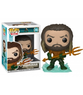 Funko POP DC: Aquaman - Arthur Curry in Hero Suit