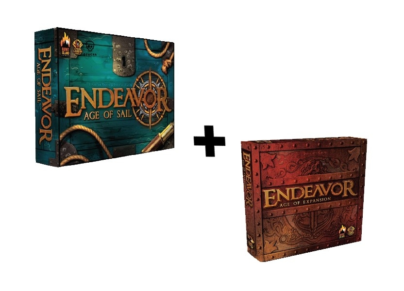 Endeavor - Age of Sail + Endeavor - Age of Expansion + 6 kart promocyjnych