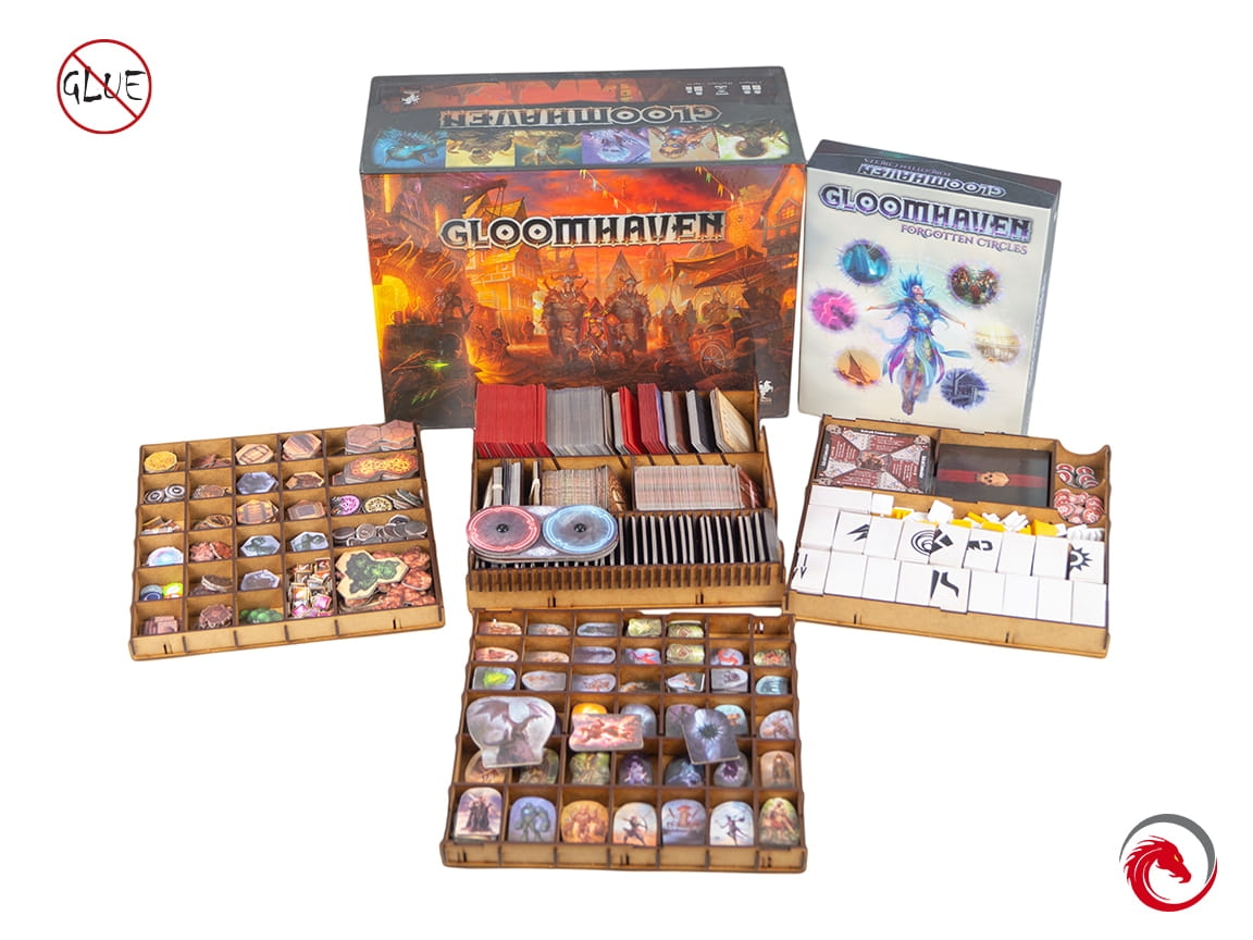 Insert do gry Gloomhaven + Forgotten Circle (e-Raptor)