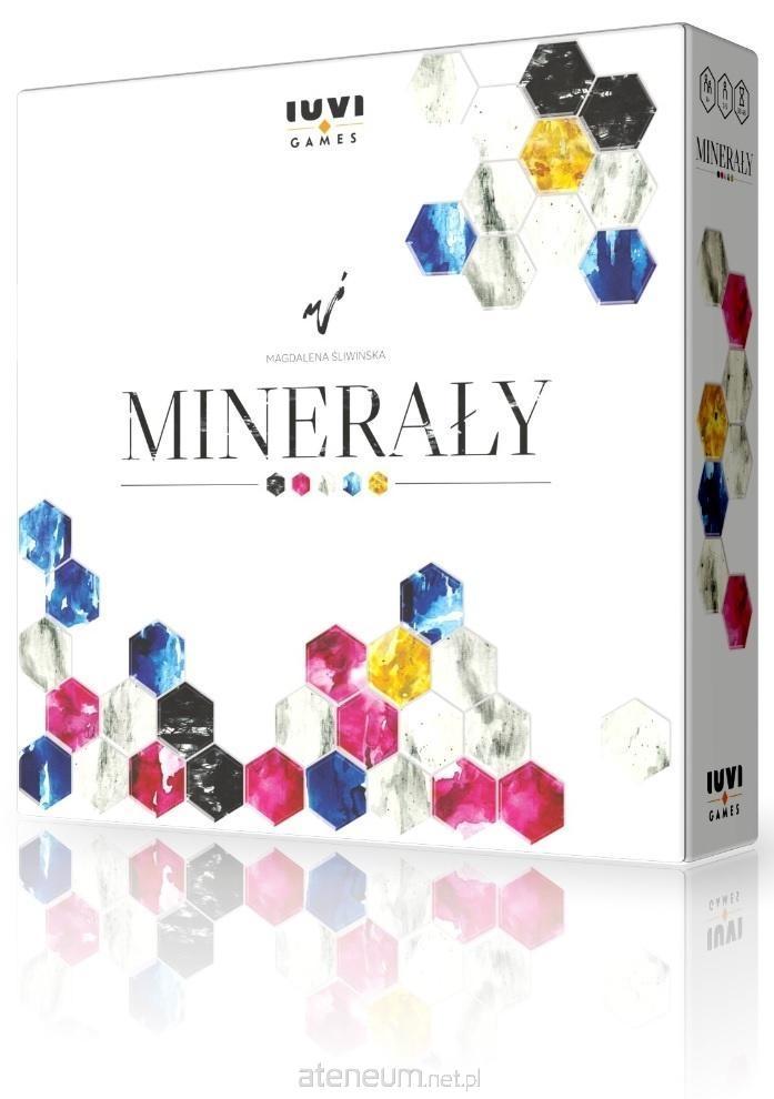Minerały (edycja polska) + specjalne pionki
