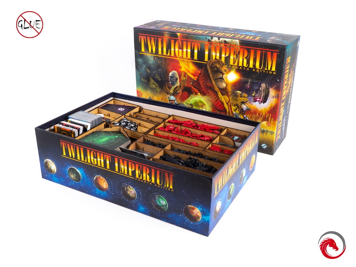 Insert kompatybilny z Twilight Imperium 4th Edition  (e-Raptor)