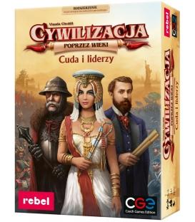 Cywilizacja: Poprzez wieki - Cuda i liderzy + kod na wersję elektroniczną gratis!