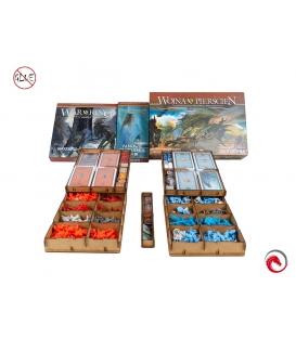 Insert do gry Wojna o Pierścień (2ed) + dodatki (e-Raptor)